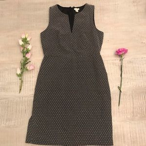 J. Crew Sleeveless Dress with Pockets Size 8